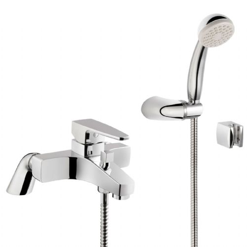 Vitra Q Line Bath Shower Mixer Tap - Chrome